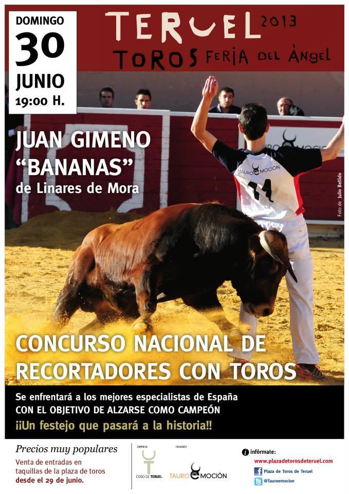 Concurso Nacional de Recortadores de Teruel