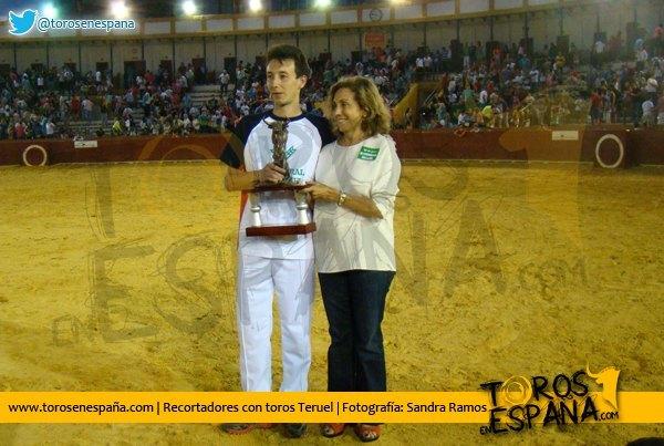 """Juan Gimeno """"Bananas"""" ganador del Concurso de Recortadores de Teruel"""