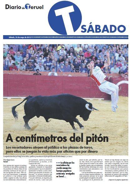 Artículo sobre recortadores publicado en el Diario de Teruel